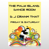 DJ Crank Night 369 Custom Decal