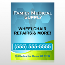 Family Medical 138 Custom Sign