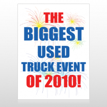 Fireworks 327 Custom Sign