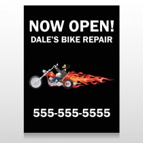 Harley Flames 323 Custom Decal
