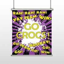 Crocs 54 Hanging Banner