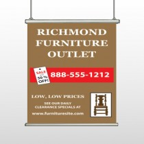 Outlet Chair 527 Hanging Banner