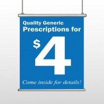 Pharmacy 334 Hanging Banner