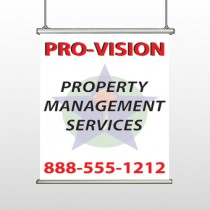 Property Management 247 Banner Hanging