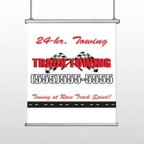 Towing 311 Hanging Banner