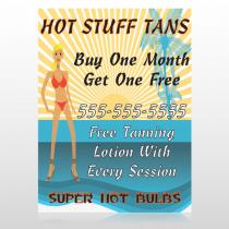 Hot Beach Tan 299 Custom Sign