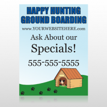 Hunting 301 Custom Sign