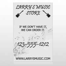 Music 371 Custom Sign