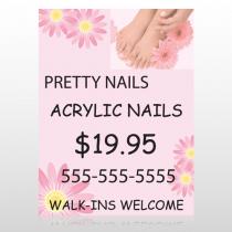 Nail Salon 291 Custom Decal