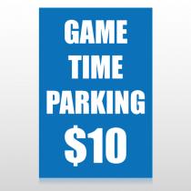 Parking 123 Custom Decal