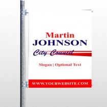 City Council 133 Pole Banner