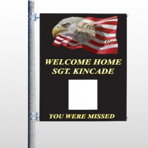 Eagle Flag 307 Pole Banner