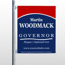 Governor 308 Pole Banner