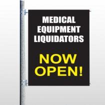 Medic Liquidation 331 Pole Banner