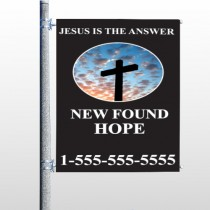 New Found Hope 01 Pole Banner