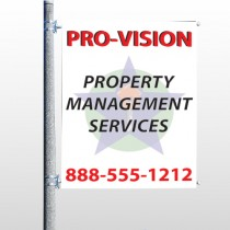 Property Management 247 Pole Banner