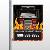 Safety Program 427 Pole Banner