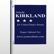 Senate 134 Pole Banner