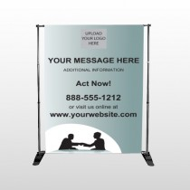 Bank 174 Pocket Banner Stand