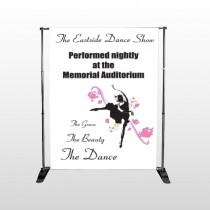 Ballet Dance 517 Pocket Banner Stand