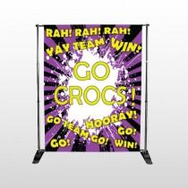 Crocs 54 Pocket Banner Stand