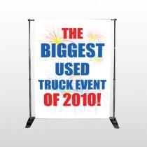 Fireworks 327 Pocket Banner Stand
