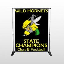 Hornet 44 Pocket Banner Stand