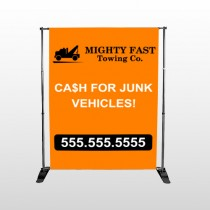 Mighty 313 Pocket Banner Stand