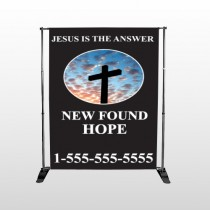 New Found Hope 01 Pocket Banner Stand