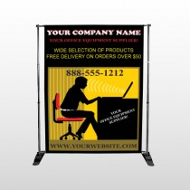 Office 149 Pocket Banner Stand