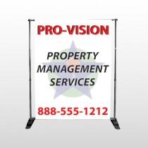 Property Management 247 Pocket Banner Stand