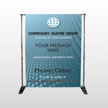 Star Wave 169 Pocket Banner Stand