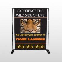 Tiger Landing 303 Pocket Banner Stand
