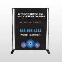 Traffic School 152 Pocket Banner Stand