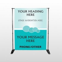 Circles 141 Pocket Banner Stand