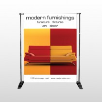 Art Furnishing 535 Pocket Banner Stand