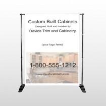 Cabinet 241 Pocket Banner Stand