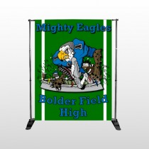 Green 56 Pocket Banner Stand