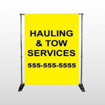 Hauling 127 Pocket Banner Stand