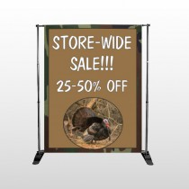 Hunt Turkey 409 Pocket Banner Stand