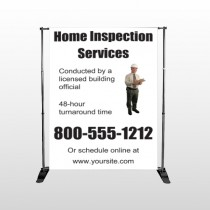Home Inspection 360 Pocket Banner Stand