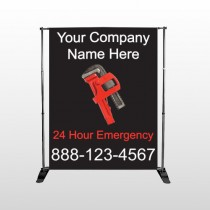 Monkey Wrench 257 Pocket Banner Stand