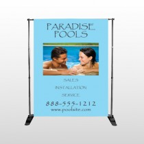 Paradise Pool 529 Pocket Banner Stand