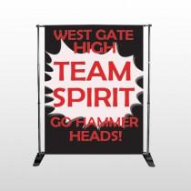 Team 43 Pocket Banner Stand