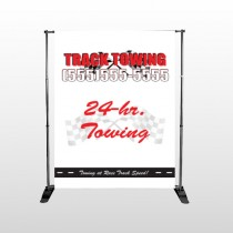 Towing 126 Pocket Banner Stand