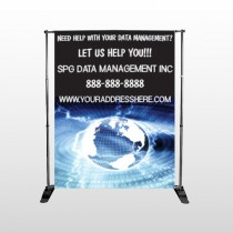 World Wide Web 437 Pocket Banner Stand