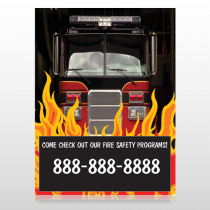 Safety Program 427 Custom Decal
