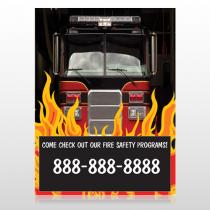 Safety Program 427 Custom Sign