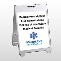 Pharmacy 335 A Frame Sign