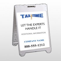 Tax Time 153 A Frame Sign